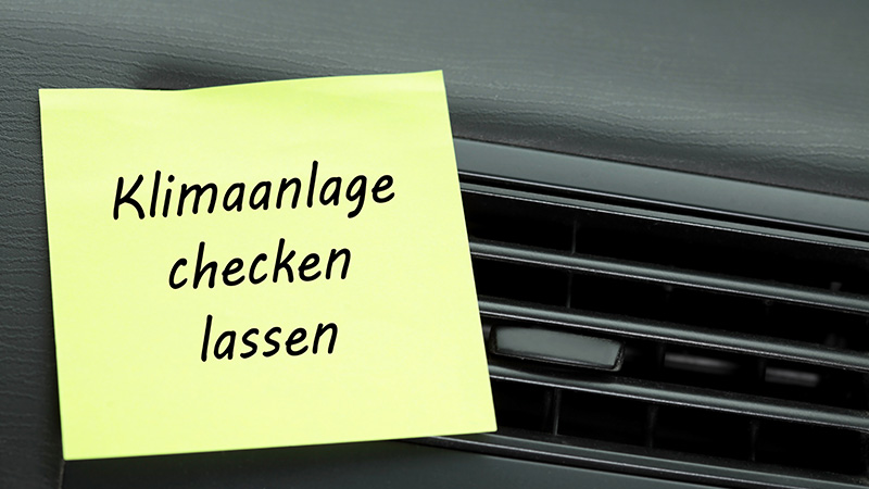 Klimaanlage des Autos reinigen lassen