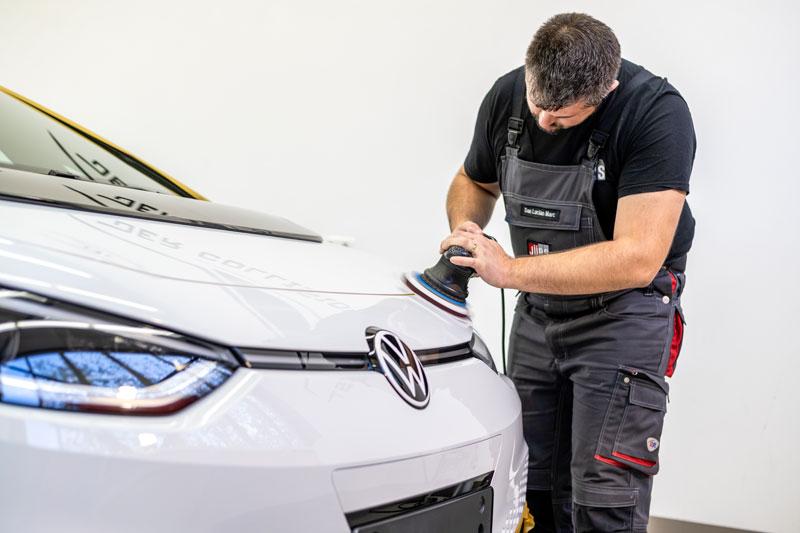 VW ID.3 wird poliert
