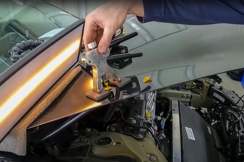 Hagelschaden reparieren lassen