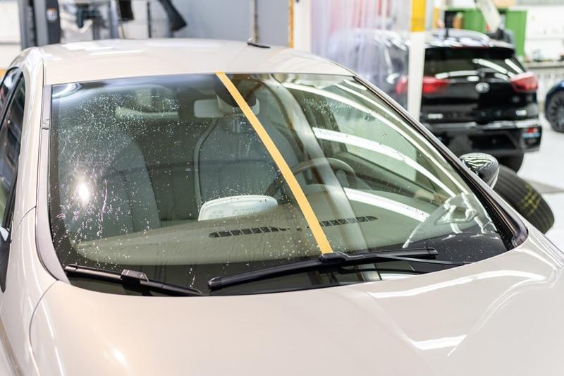 Scheibenversiegelung beim Auto