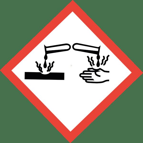 Gefahrensymbol - GHS05