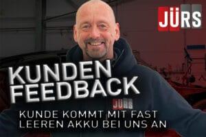 Kundenfeedback aus Berlin